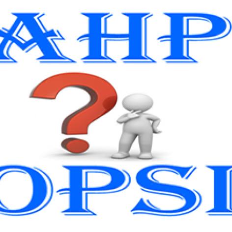 دانلود مثال های حل شده با روش های تاپسیس TOPSIS و ویکور VIKOR و AHP و ELECTRE به همراه فایل اکسل