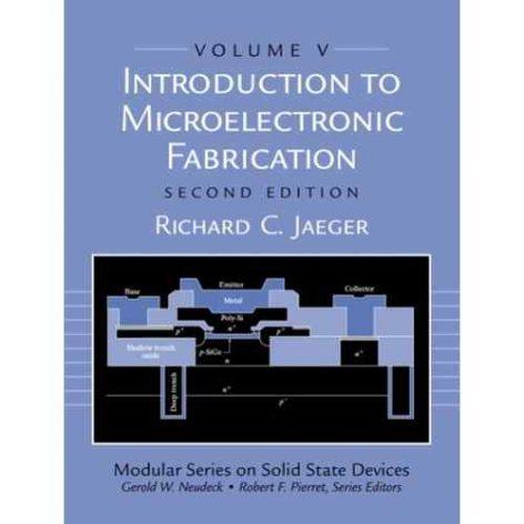 حل تمرین مقدمه ای بر ساخت ادوات میکروالکترونیک جاگر -ویرایش دوم